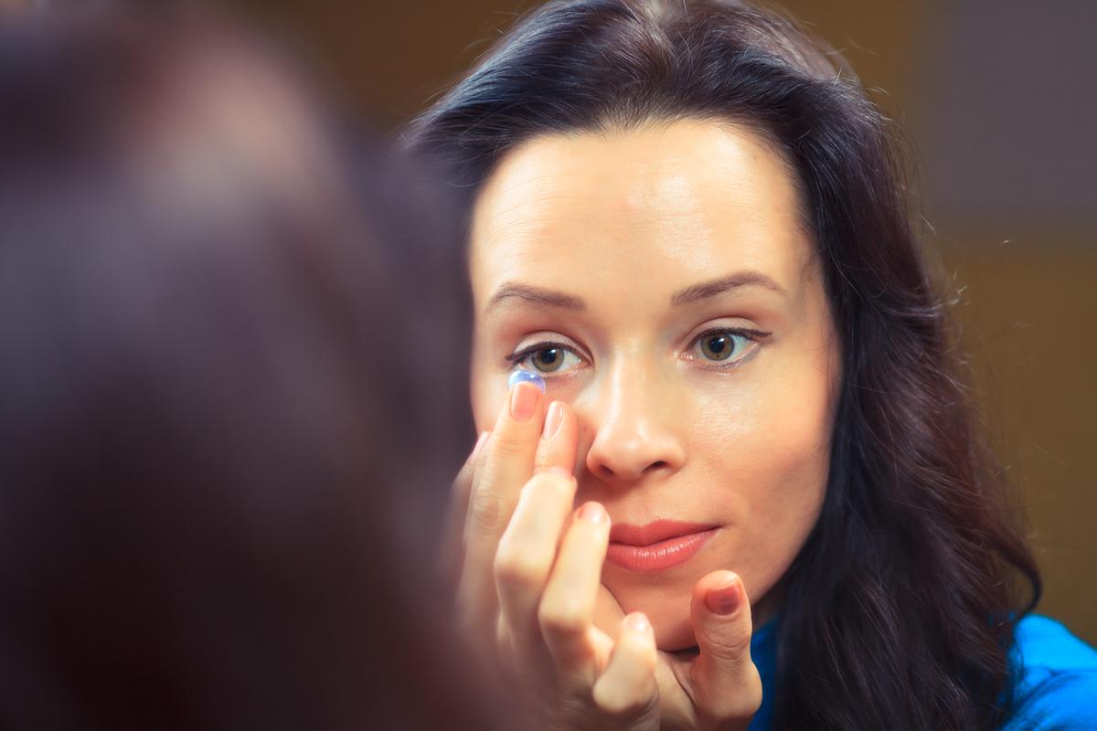 adaptation lentilles de contac