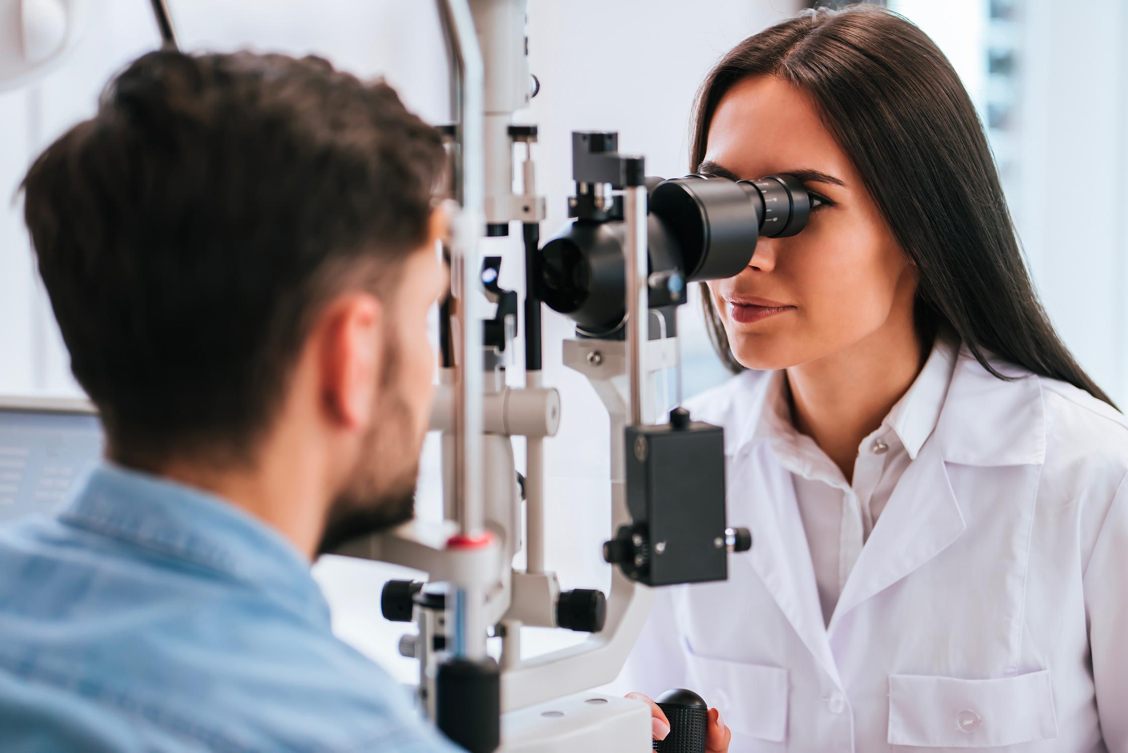 La consultation d'ophtalmologie